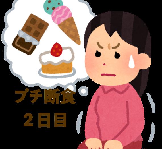 2日間プチ断食記録【睡魔と限界の2日目】
